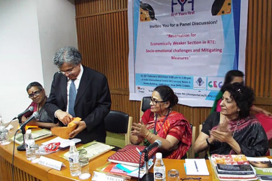 Reservation for EWS in RTE: Socio-emotional challenges and Mitigating Measures