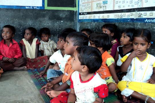 Classroom Situation in Balwadi's in Hyderabad
