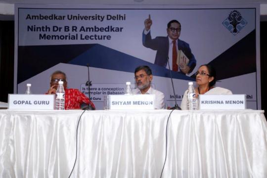 9th Ambedkar Memorial Lecture