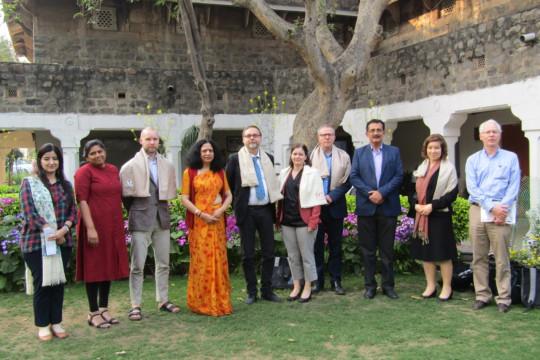 Visit of delegates from Karlstad University Sweden