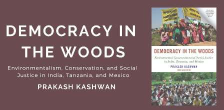 Democracy In The Woods - Book Launch