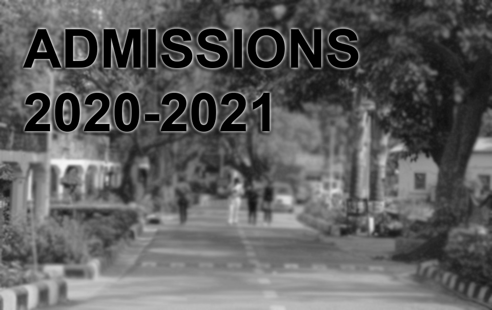 Admission e-Brochure for academic session 2020-21 shall be uploaded at website tentatively on 15th July 2020.