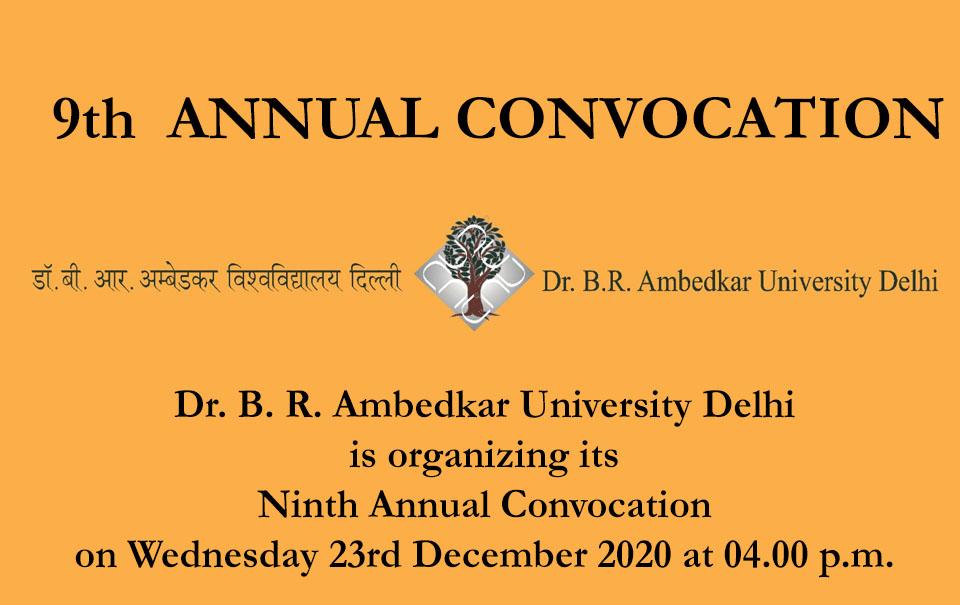 9th ANNUAL CONVOCATION