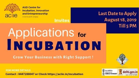 Application for Incubation