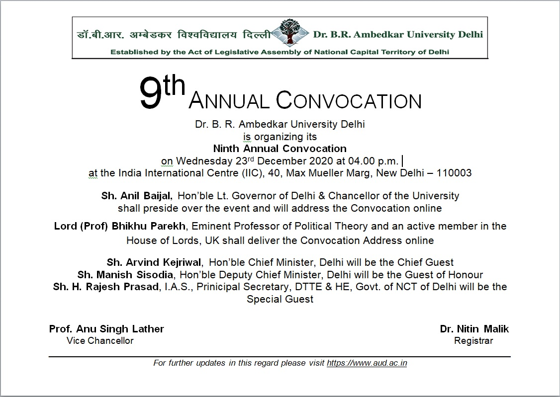Foundation Stone Laying Ceremony for Dheerpur and Rohini Campuses