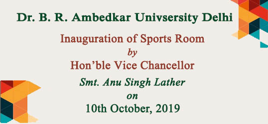 Inauguration of Sports Room