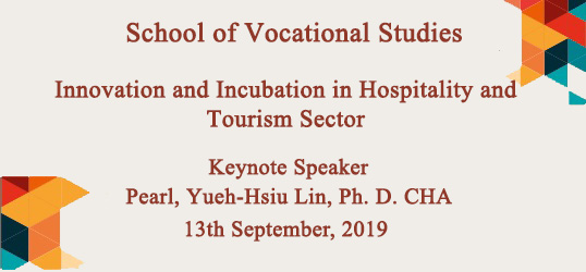 Innovations & Incubation in Tourism & Hospitality Sector