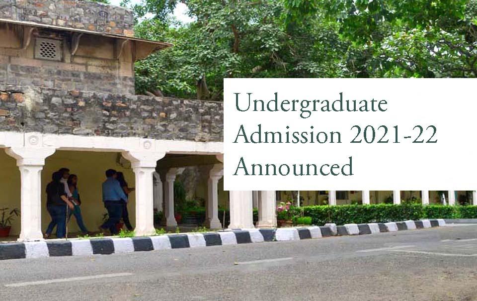 UG ADMISSION 2021