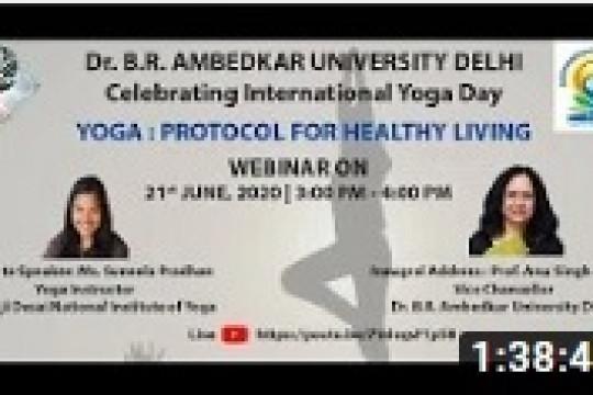 AUD Celebrating International Yoga Day