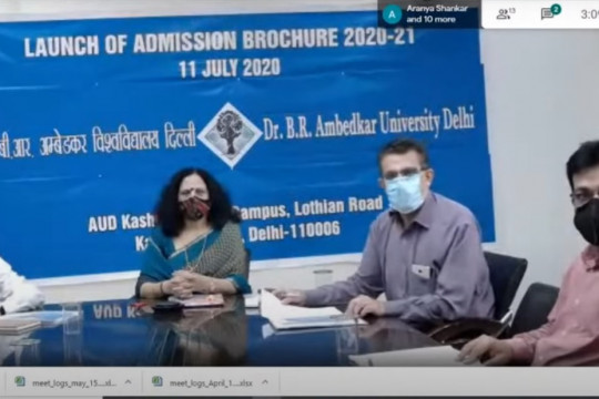 Release of Admission brochure for session 2020-21