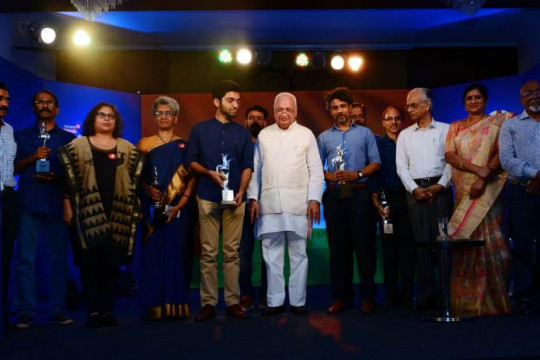 CNN News 18-Malayalee of The Year Award in Art