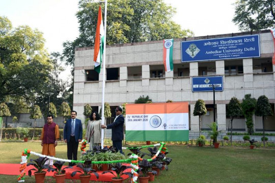 Republic Day celebrations at KP campus