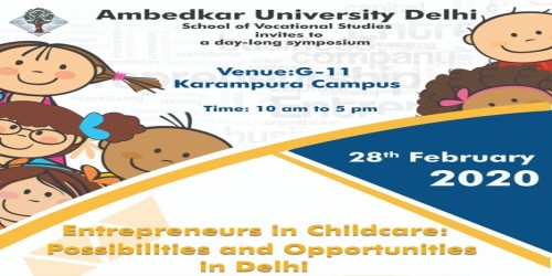 Entrepreneurs in Childcare: Possibilities and opportunities in Delhi